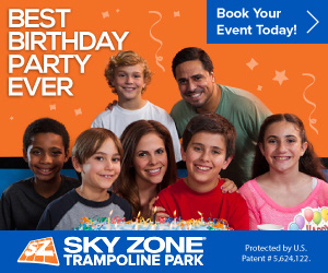 Sky Zone Party Sites