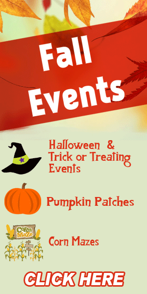 Fall Events (Corn Mazes, Pumpkin Patches, Trick or Treating and More!)