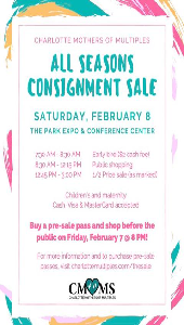 CMOMS Conigment sale