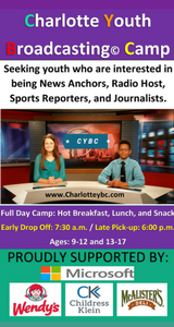 Charlotte Youth Broadcasting Camps