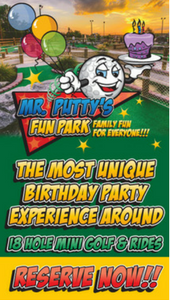 mr.putty'sbirthday parties