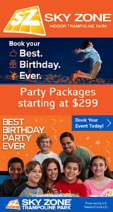 Sky Zone Party Party Section