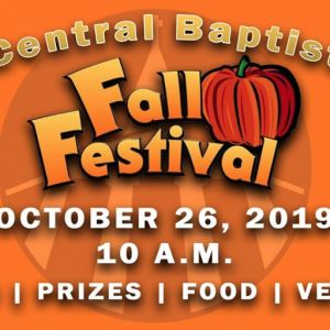 10/26 CBC Community Fall Festival