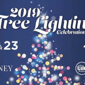 11/23 2019 Tree Lighting & Santa Arrival at Blakeney Shopping Centers