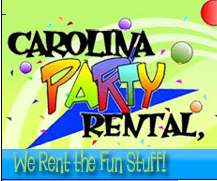Carolina Party Rental Concession Items