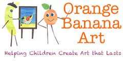 Orange Banana Art Home School Classes