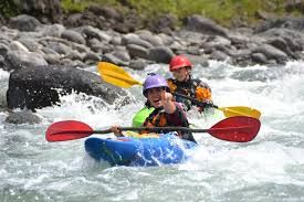Whitewater Kayaking at U.S National White Water Center