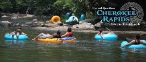 Tubing at Cherokee Rapids