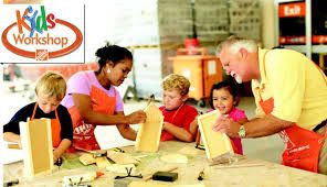 Kids' Workshop at Home Depot