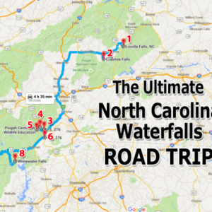 North Carolina Waterfalls Road Trip