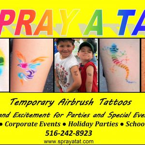 Spray A Tat Temporary Airbrush Tattoos