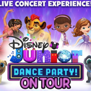 03/25 Disney Jr. Dance Party On Tour! at Blumenthal Performing Arts