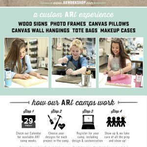 AR Workshop Charlotte DIY Day Summer Camps 2018