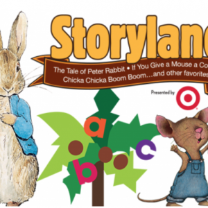 "06/09-09/09 ""Storyland: A Trip through Childhood Favorites"" exhibit  at ImaginOn"