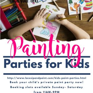Kid's Traveling Paint Parties